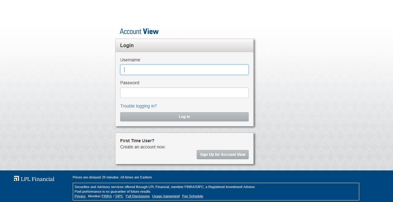 lpl financial login