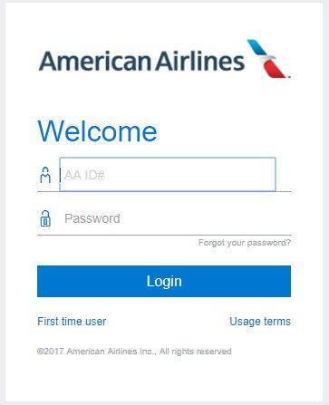jetnet.aa.com american airlines login