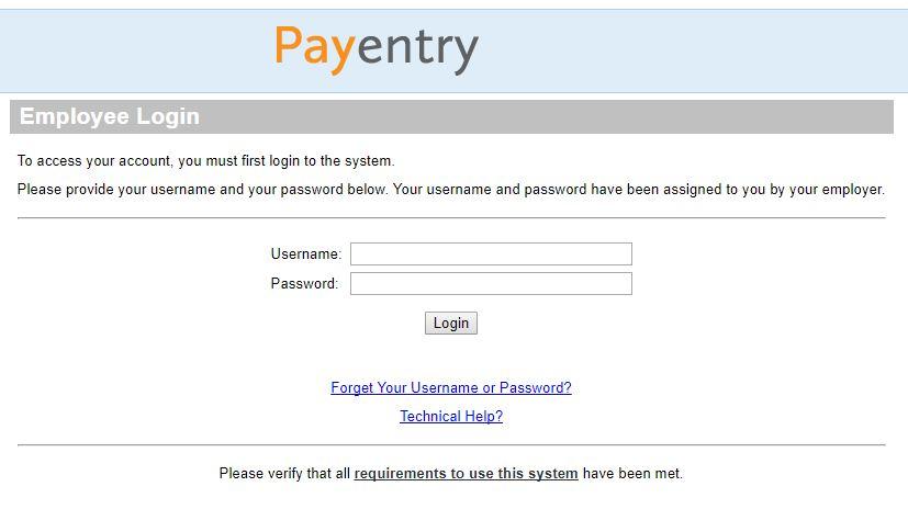 payentry login
