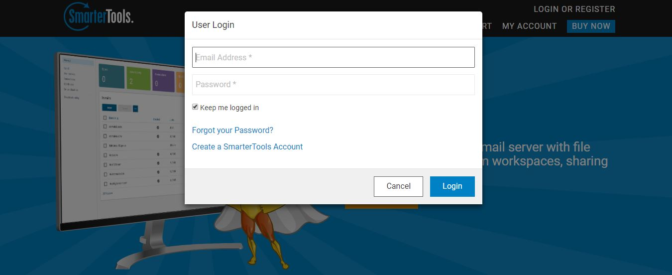 smartermail login