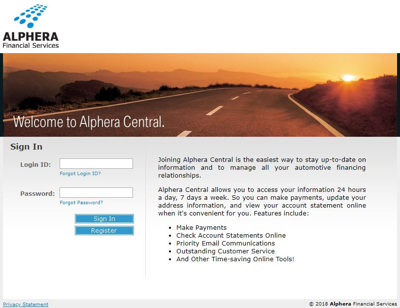 alphera login