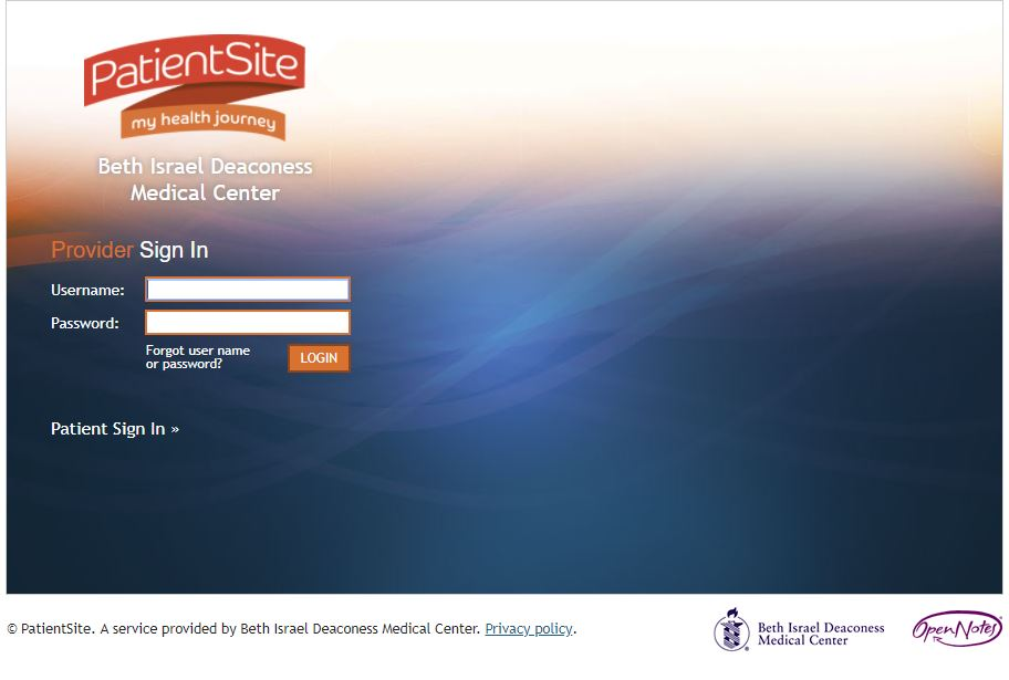 Bidmc Login How Do I Login