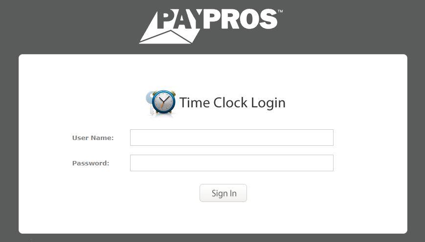 paypros login