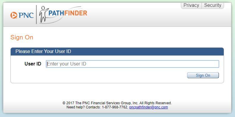 pnc pathfinder portal login