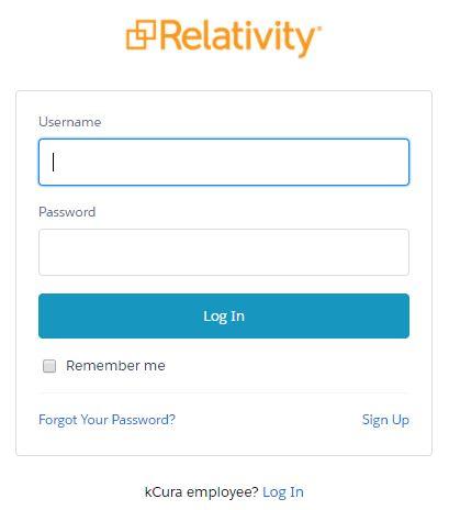 relativity login