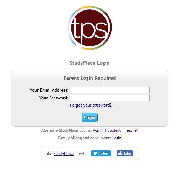 tps login