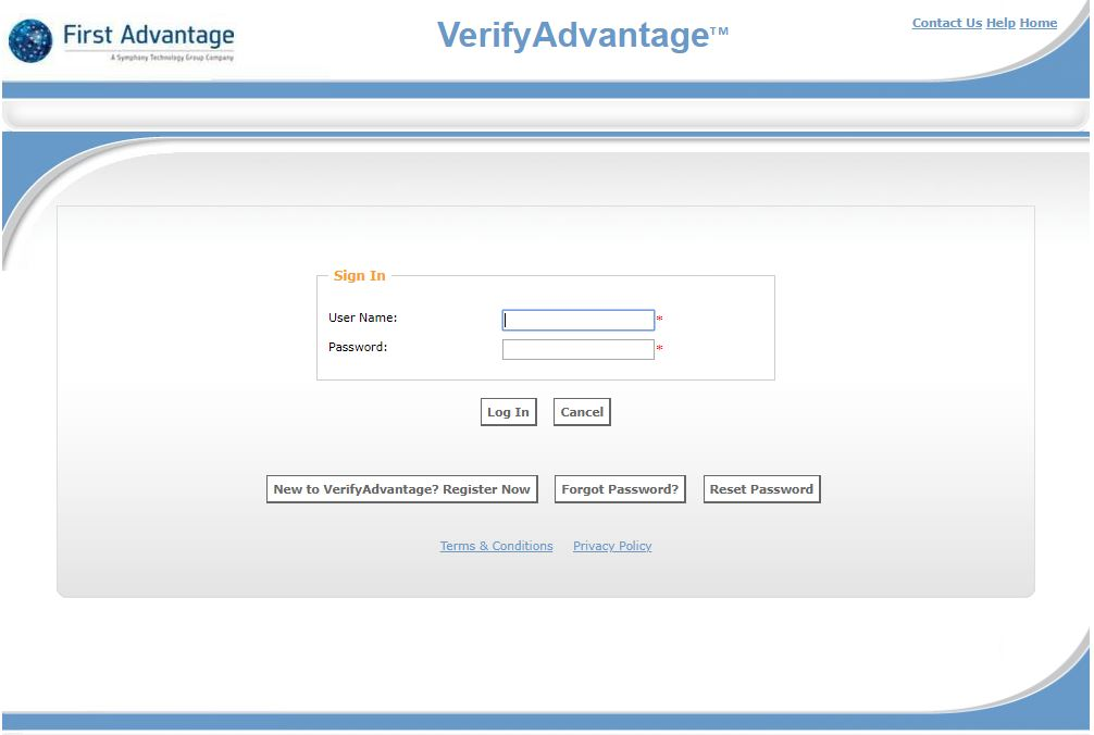 verify advantage login